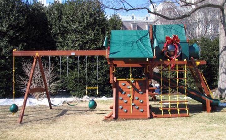 Детский комплекс в Белом доме